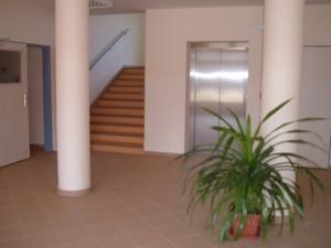 Dům s chráněnými byty - schodiště